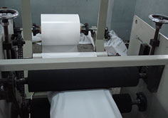 Blowing machine production process of how to control the size and thickness of a plastic bag and pull